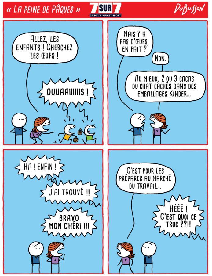 """""""La peine de Pâques"""", 22 avril 2019."""