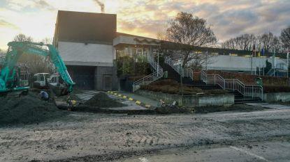 Olympos onverwacht gesloten door breuk in waterleiding tijdens werken