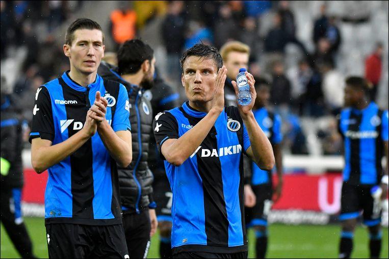 Vossen en Vanaken, twee Belgen en Clubs-spelers.