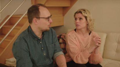 """Vreselijk nieuws voor Michael en Sandra in 'Blind Gekocht': """"We hebben asbest gevonden in het dak"""""""