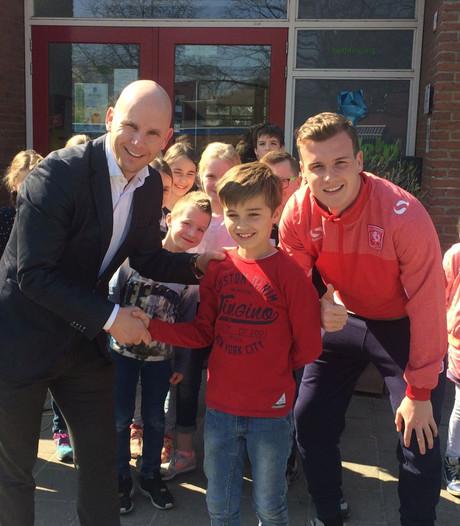 Daan uit Markelo krijgt Super Super Droomdag bij FC Twente
