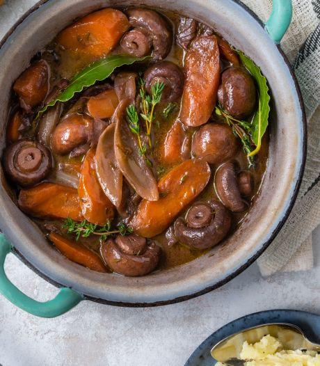 Wat Eten We Vandaag: Champignons bourguignon