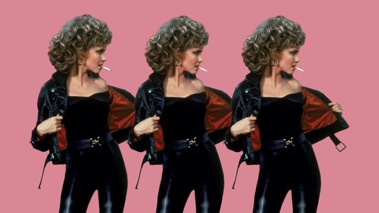 Olivia Newton John in Grease.