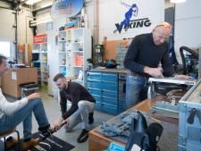 Drukke tijden voor schaatsenslijpers in Ede en Wageningen