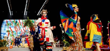 Bas Kosters opent Amsterdam Fashion Week met kleurrijke show