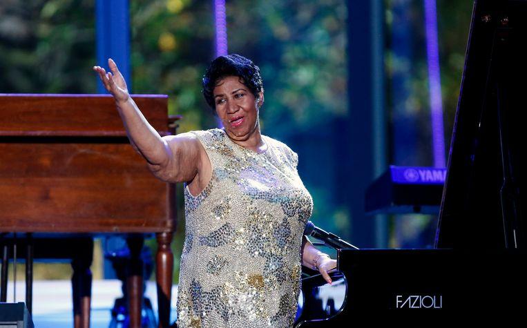 Aretha Franklin.