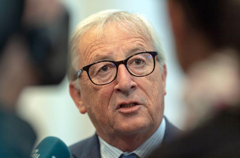 EU-commissievoorzitter Jean-Claude Juncker Beeld null