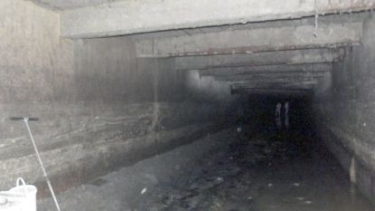 Stad laat 1.500 ton rioolslib verwijderen uit Molenbeekcollector: geurhinder mogelijk aan carnavalshallen
