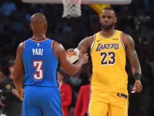 LeBron James marque l'histoire, Carmelo Anthony est de retour, Golden State gagne