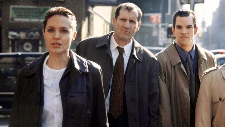 Angelina Jolie, Ed O'Neill en Michael McGlone. Beeld