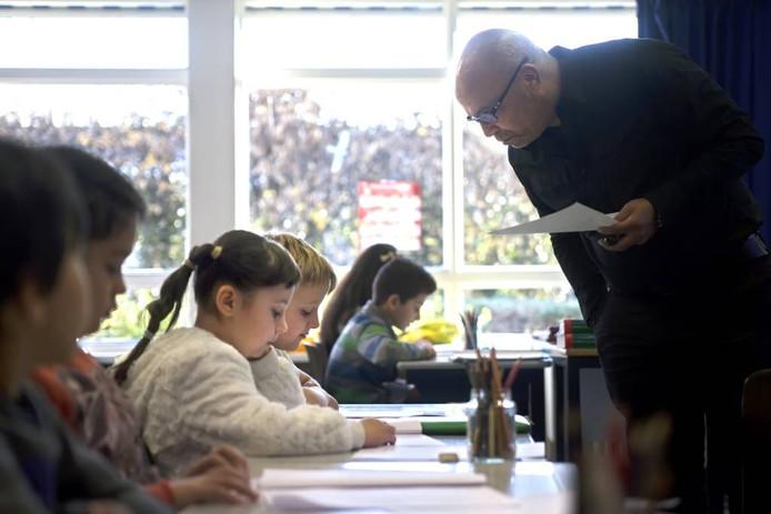 De NAZ-klas bestaat uit maximaal tien kinderen. Zij zitten er gemiddeld twaalf tot dertien maanden. Johan Wouters/pix4profs