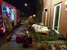 Omgevallen kaars zorgt voor brandje op bovenverdieping in huis Arnhem