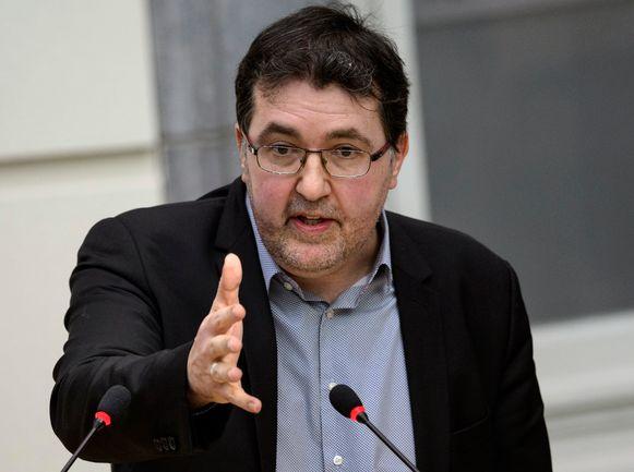 Vlaams parlementslid Wouter Van Besien, fractieleider van Groen in de Antwerpse gemeenteraad.