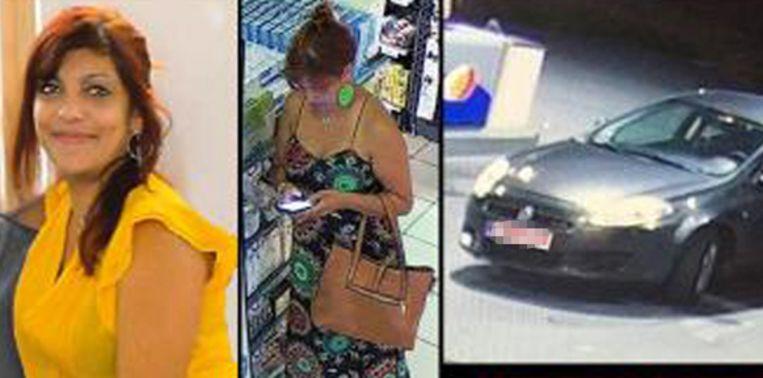 Het opsporingsbericht dat de politie verspreidde na haar verdwijning.