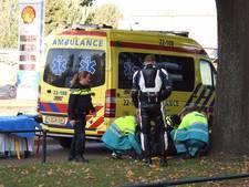 Motorrijdster botst tegen boom in Veldhoven