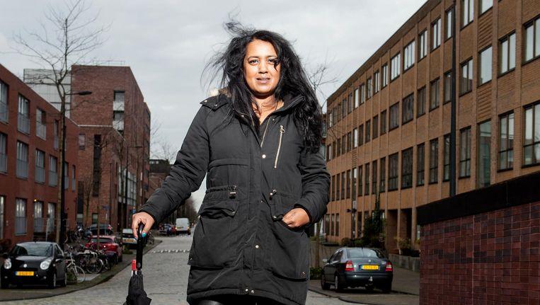 Diana Sardjoe: 'Ik ging geloven dat ik inderdaad een slechte moeder was' Beeld Niels Blekemolen