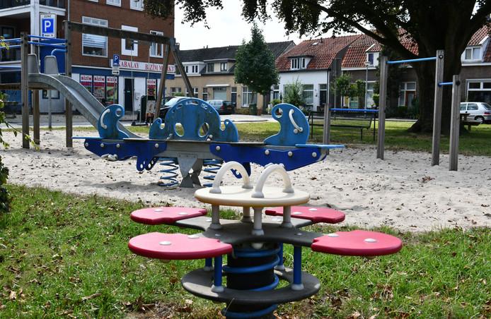 De speeltuin aan het Sterrebos in Tiel.
