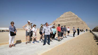 De oudste piramide van Egypte opnieuw open na renovatie
