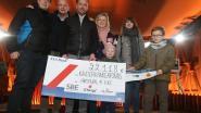 Gezin van Hélène (6) haalt samen met Arsenal 22.618 euro op voor Kinderkankerfonds
