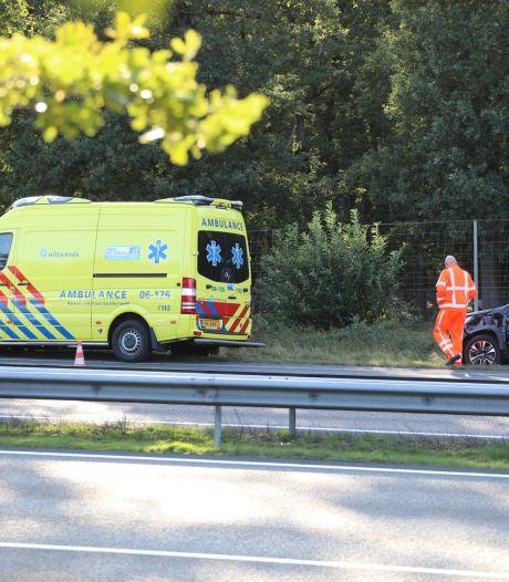 Aanrijding op A50 tussen Apeldoorn en Arnhem
