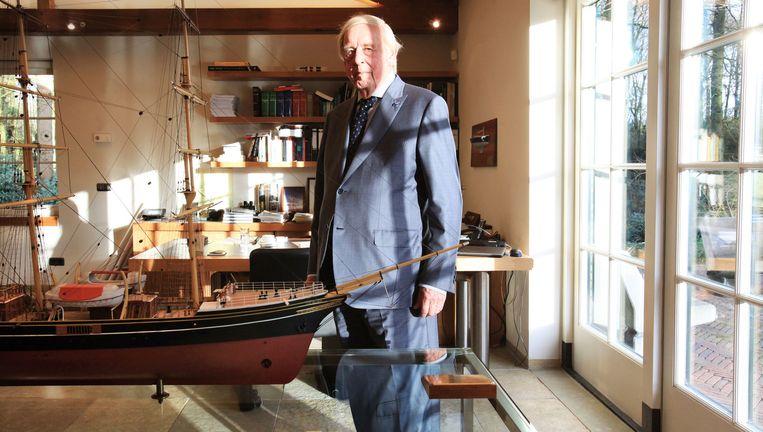 Frits Goldschmeding is volgens zakenblad Quote de op een na rijkste Nederlander. Beeld