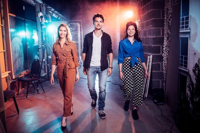 Tinne Oltmans, Oscar Willems en Anouck Luyten in 'Lisa'