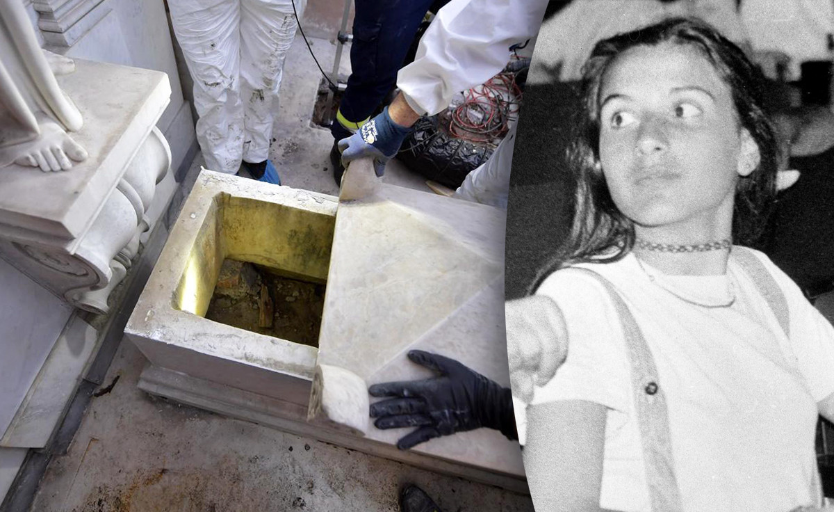 Op 11 juli werden twee graven op het Duits kerkhof in Vaticaanstad opengemaakt in de zoektocht naar de sinds 1983 vermiste Emanuela Orlandi (15). De graven bleken leeg.