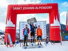 Zilver Helmondse skiër Olaf Borsboom op NK slalom
