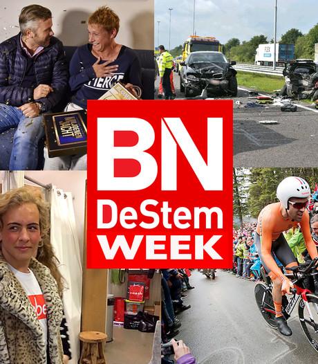 Prijswinnaar in Lage Zwaluwe, Stijn kiest vrouwenjas en opblaasbare vluchteling in Breda