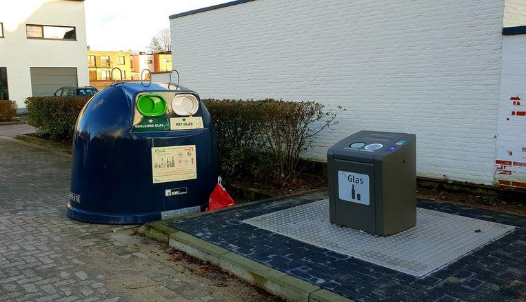 De oude, bovengrondse glasbollen zullen vanaf 15 januari verdwijnen op drie plaatsen in Turnhout.