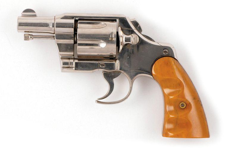 Een Colt Army Special .38-revolver. Beeld anp