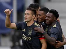 Ajax leek niet te houden, Heerenveen was nog net niet gedoodverfd degradant