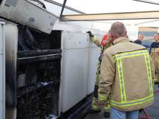 Airco vat vlam in bedrijfspand in Eindhoven