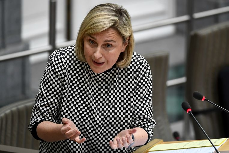 Vlaams Onderwijsminister Hilde Crevits (CD&V).