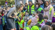 Koningin Mathilde bezoekt kinderen die muziektherapie krijgen