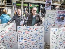 Doodmoe van Hengelose verkiezingscampagne maar met kriebels in de buik