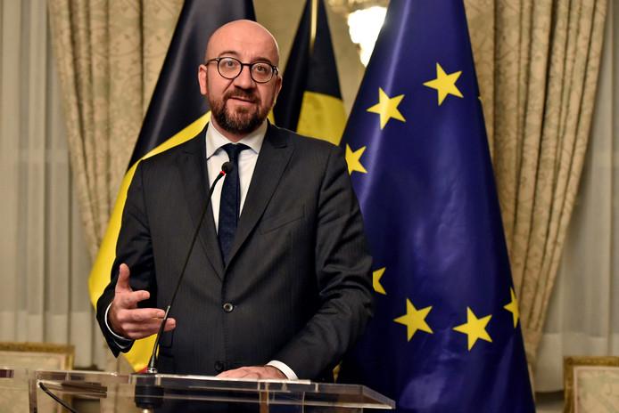 De Belgische premier Charles Michel.