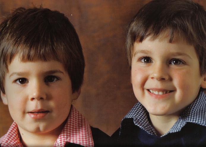 De broertjes Verhoeven; Jan en Rene