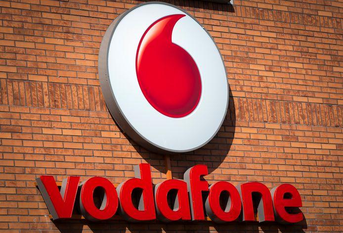 2015-08-26 00:00:00 MAASTRICHT - Hoofdkantoor van telefoonprovider Vodafone aan de Avenue Ceramique. ANP XTRA LEX VAN LIESHOUT