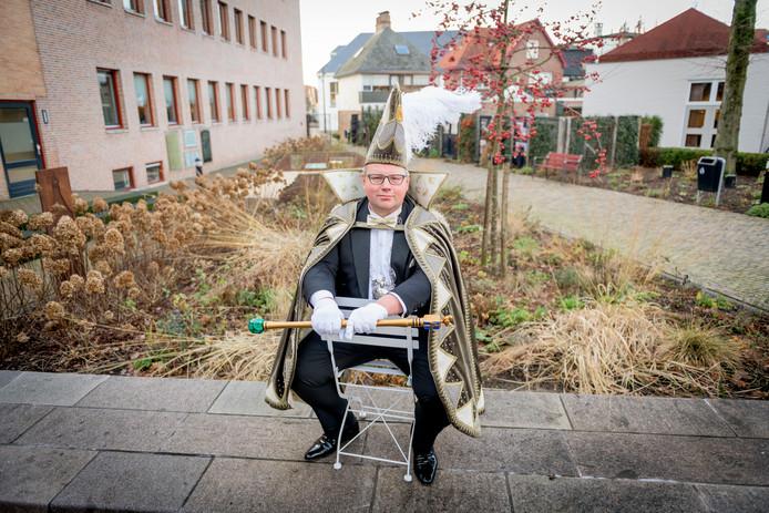 Niels Seinen leidt dit jaar het Oldenzaalse carnaval als stadsprins van de Boeskoolstad.