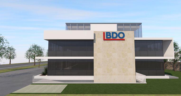 Nieuw kantoor van BDO op de Brusselsesteenweg in Melle.
