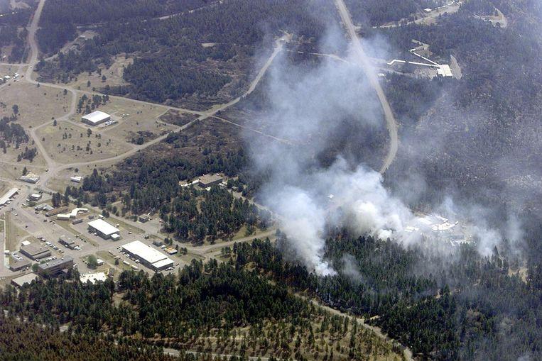 Los Alamos National Laboratory in de bergen van New Mexico. Beeld AFP