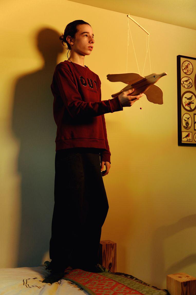 """Daan Firens, 16 jaar: """"Naar homo's en lesbische meisjes wordt niet zo raar meer gekeken.Transgender of non-binaire personen, dat is een ander verhaal."""""""