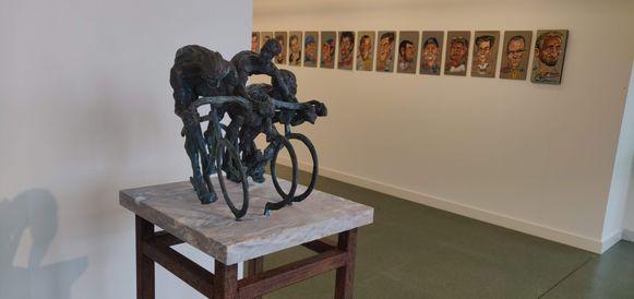 Eén van de werken van Jan De Groef.