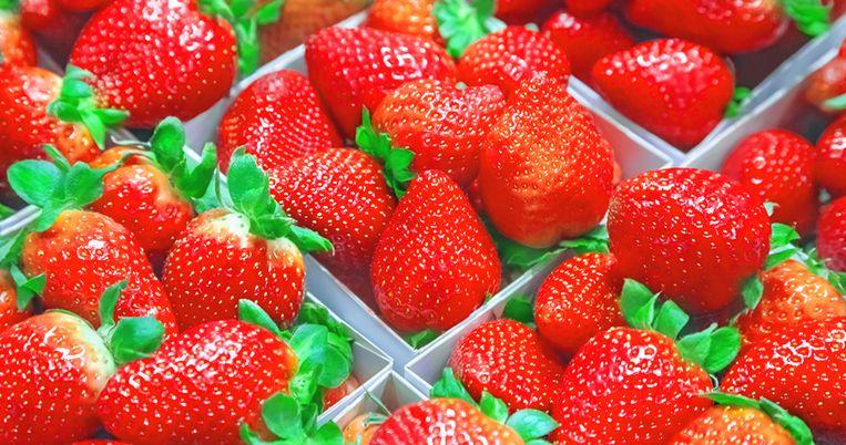 Aardbeien waren nog nooit zo goedkoop.
