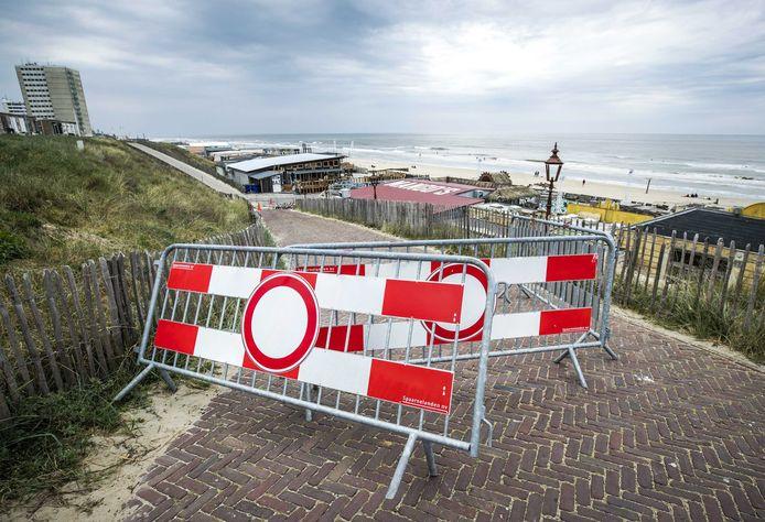 Afsluiting in Zandvoort.
