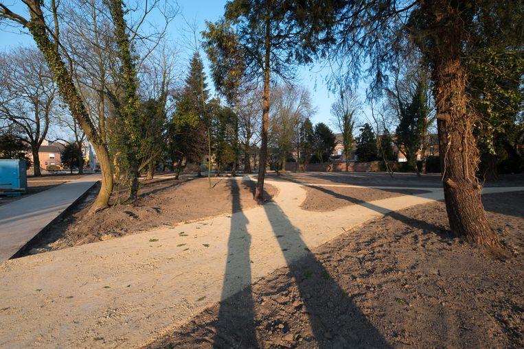 De overvan gebeurde in Park Brouwershof
