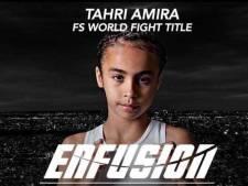 Kickboksster Tahri krijgt steun van filmster The Fast and The Furious