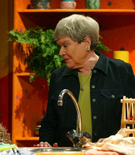 Paula Sleyp (88) uit Sesamstraat overleden