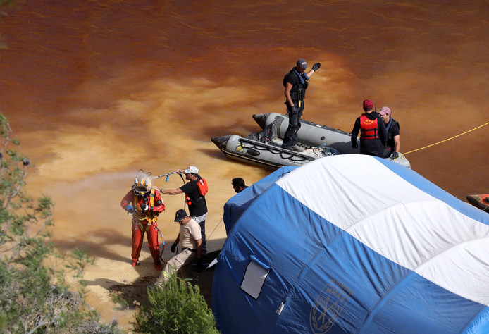 De Cypriotische politie heeft een tweede lichaam in het meer gevonden.
